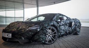 beautiful McLaren Feather Wrap