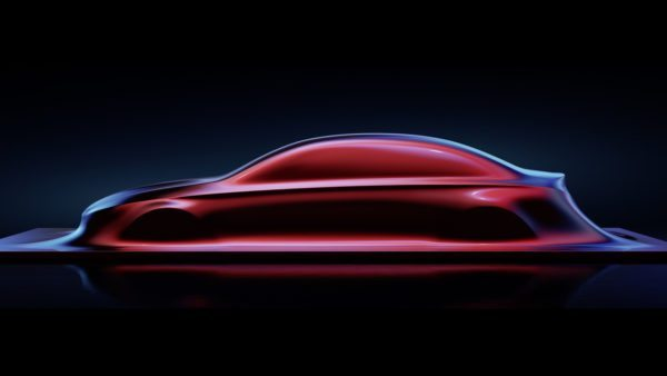 Mercedes Benz A Class Sedan Teaser