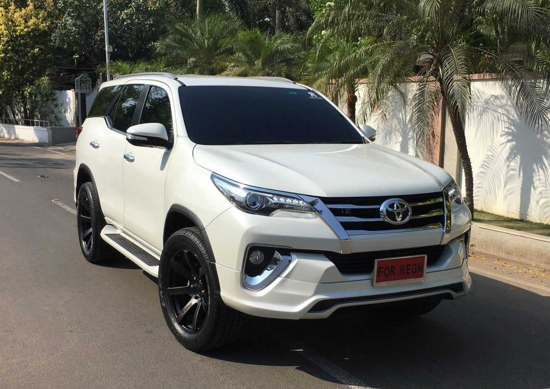 Creta 2017 White >> Toyota Fortuner Muscles Up With 'Fiar Design' Body Kit | Motoroids