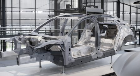 New Audi A8 Body Structure (5)