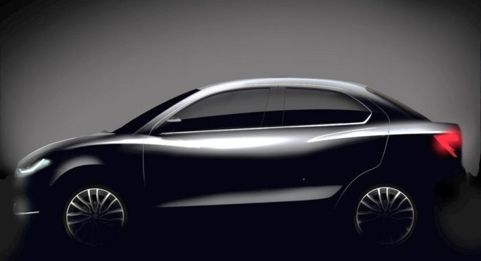 Here's The First Official Sketch Of The All-New Maruti Suzuki Dzire