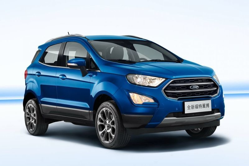 New Ford Ecosport For China Revealed Gets 174 Hp Engine
