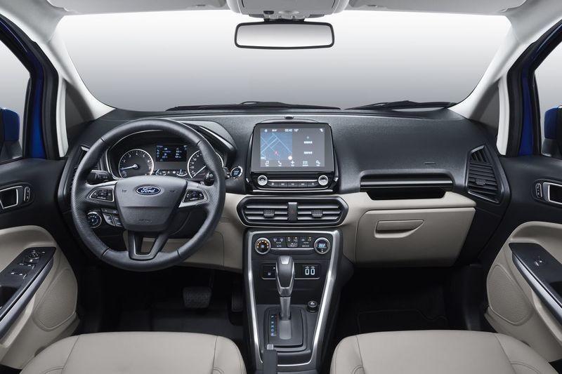 New Ford Ecosport China Interior
