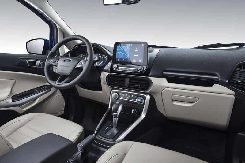 April 20 2017 New Ford EcoSport China Interior 2