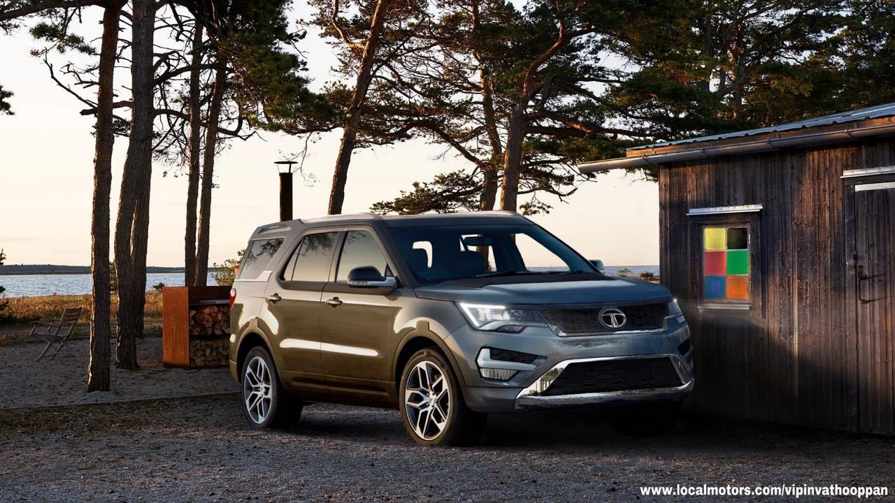 Tata Safari 2018 Model >> If The Next-Gen Tata Safari Looks Anything Like This, We're Sold   Motoroids