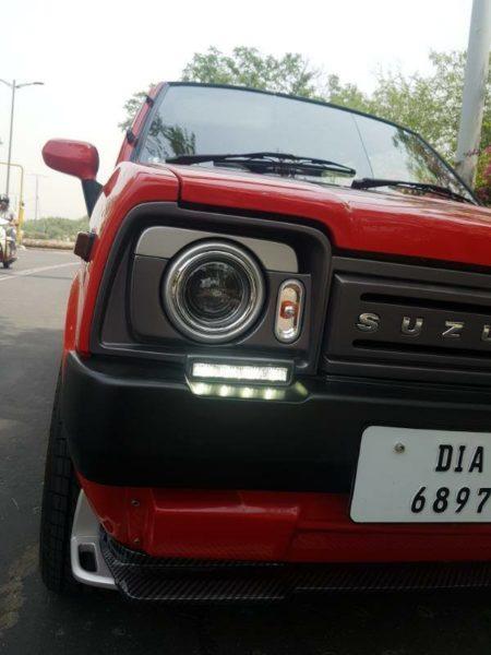 Restomodded-Maruti-SS80-modified-headlamps-450x600