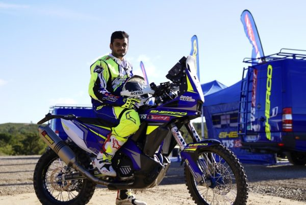 Sherco-TVS-Factory-Rally-Team-For-Merzouga-Rally-Aravind-KP-600x401