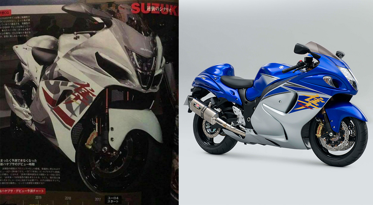 is this how the 2018 suzuki hayabusa would look like motoroids. Black Bedroom Furniture Sets. Home Design Ideas