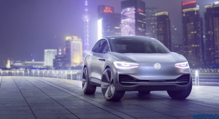The Volkswagen I.D. CROZZ Concept Features A 500 km range, All-wheel Drive And Autopilot Mode