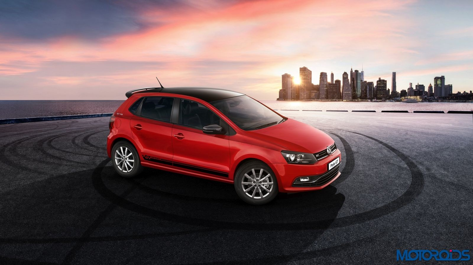 volkswagen polo gt sport launched in india motoroids. Black Bedroom Furniture Sets. Home Design Ideas