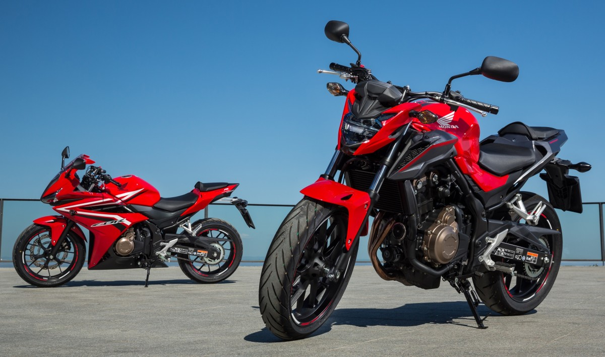 Cbr Honda Bike >> 2017 Honda CBR500R and CB500F Get New Color Options | Motoroids