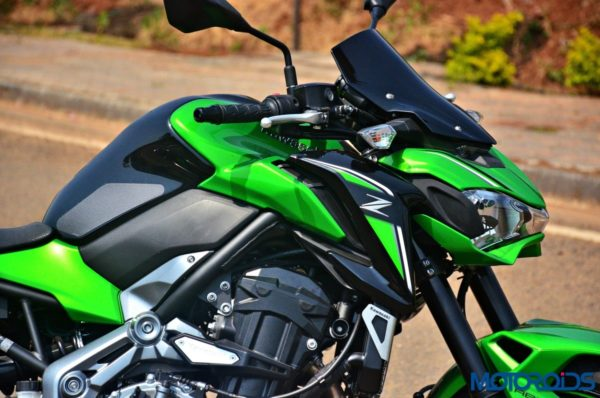 2017 Kawasaki Z900 First Ride Review - Fuel Tank