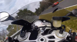 Breathtaking Save By BMW S1000RR Rider After Being Hit By A Car At Over 100 MPH