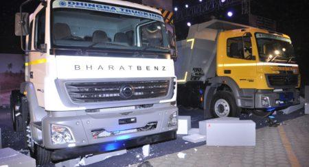 BharatBenz Unveils New Heavy Duty Truck Range (1)