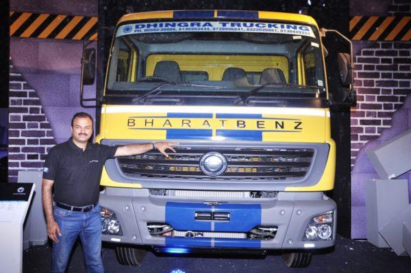BharatBenz-Unveils-New-Heavy-Duty-Truck-Range-2-600x399