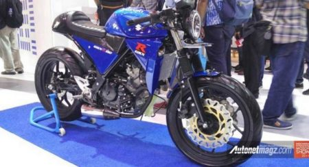 Custom-Suzuki-GSX-R150-Cafe-Racer - Indonesia