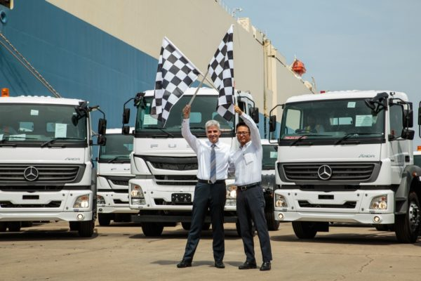 Daimler India Commercial Vehicles (DICV) recently announced the milestone of exporting 10,000 trucks