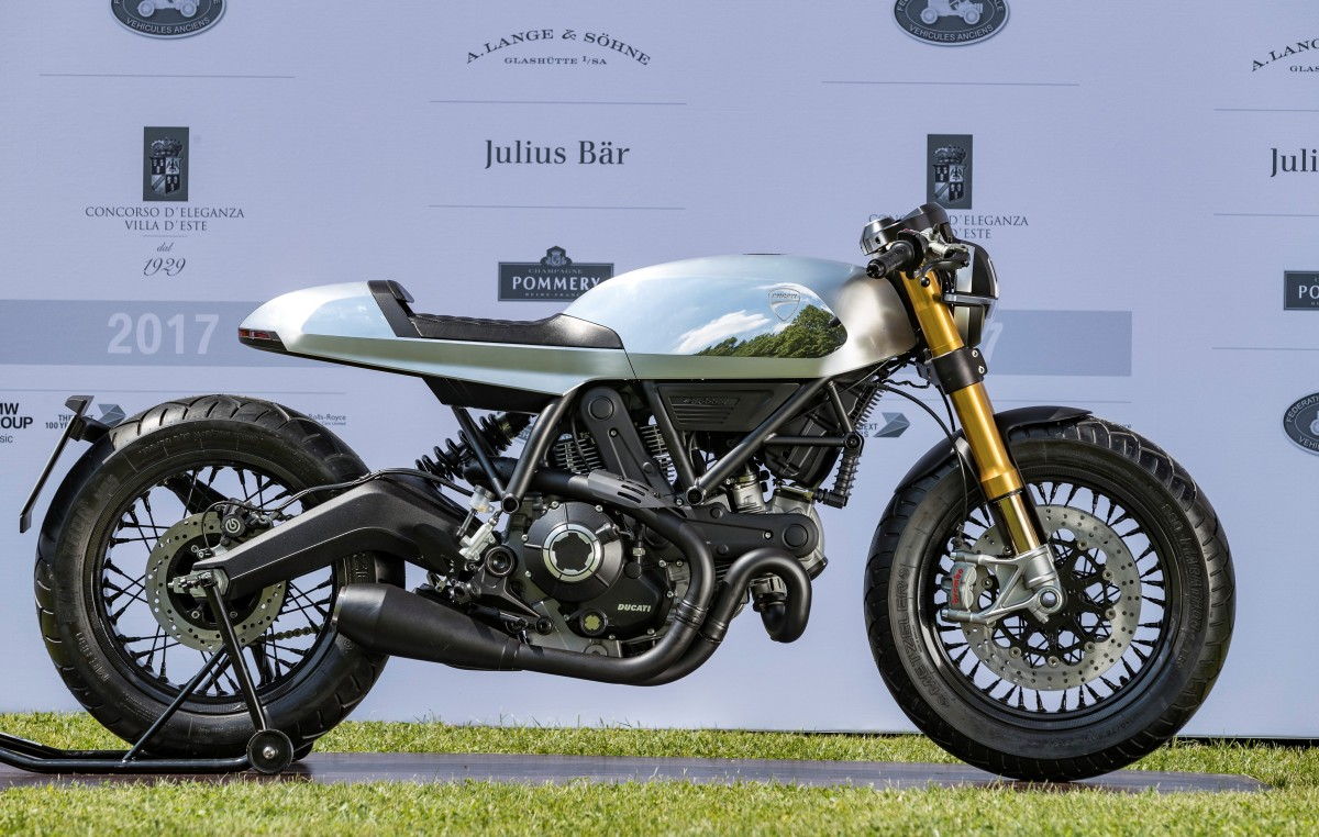 Ducati Cafe Racer Wins Motorcycle Design Concept Bike And New Prototypes Award Motoroids