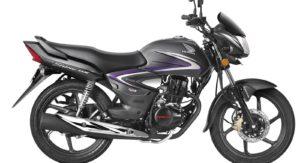 Honda CB Shine 1 lakh sales