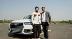Indian Cricketer Virat Kohli Gets The New Audi Q7 45 TDI