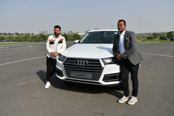 Virat Kohli Welcomes New Audi Q7 45 TDI To His Garage