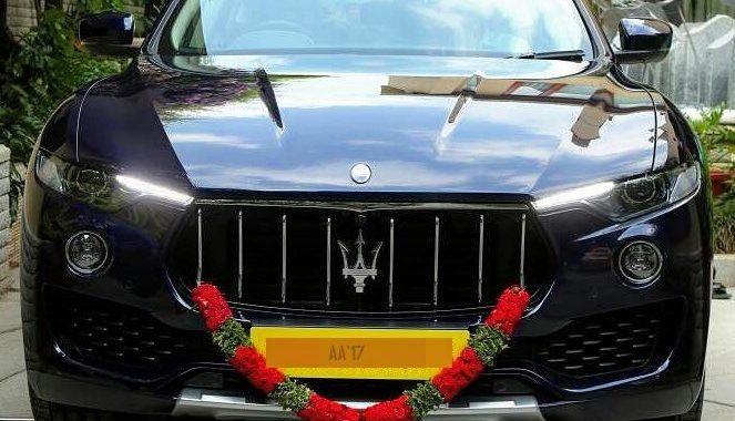 India's first Maserati Levante