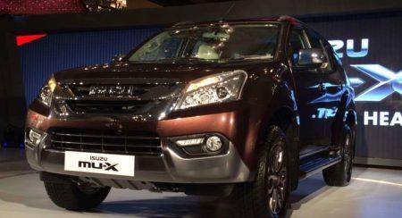 Isuzu MU-X India launch (2)