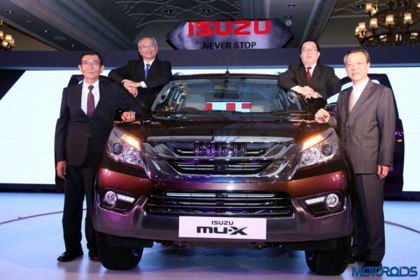Isuzu MU-X official image
