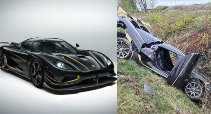 Bespoke Koenigsegg Agera RS Gryphon Crashes During Test, Company Offers Owner A New One