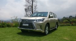 Lexus LX 450d Front Side shots