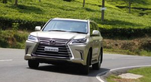 Lexus LX 450d First Drive Review: Swanky Spread