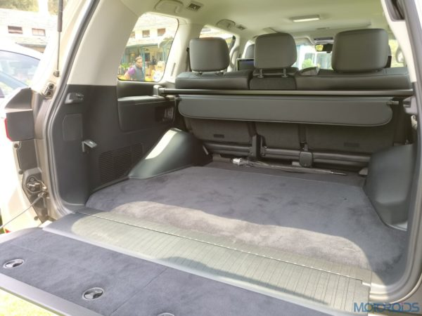 Lexus LX 450d - Boot Space