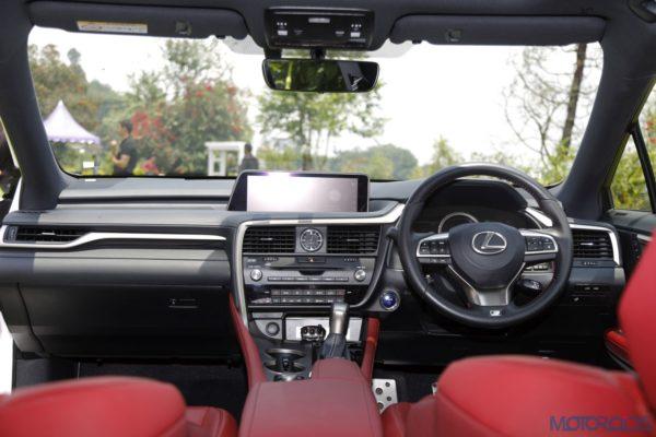 Lexus RX 450h - Dashboard - Steering