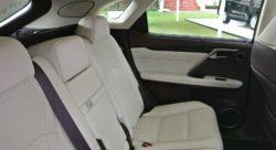 Lexus RX 450h - rear seats