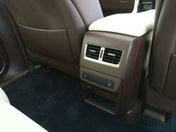 Lexus RX 450h - rear seats heater function