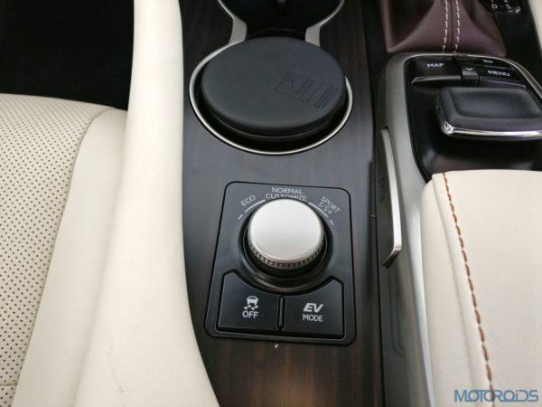 Lexus RX 450h - driving modes