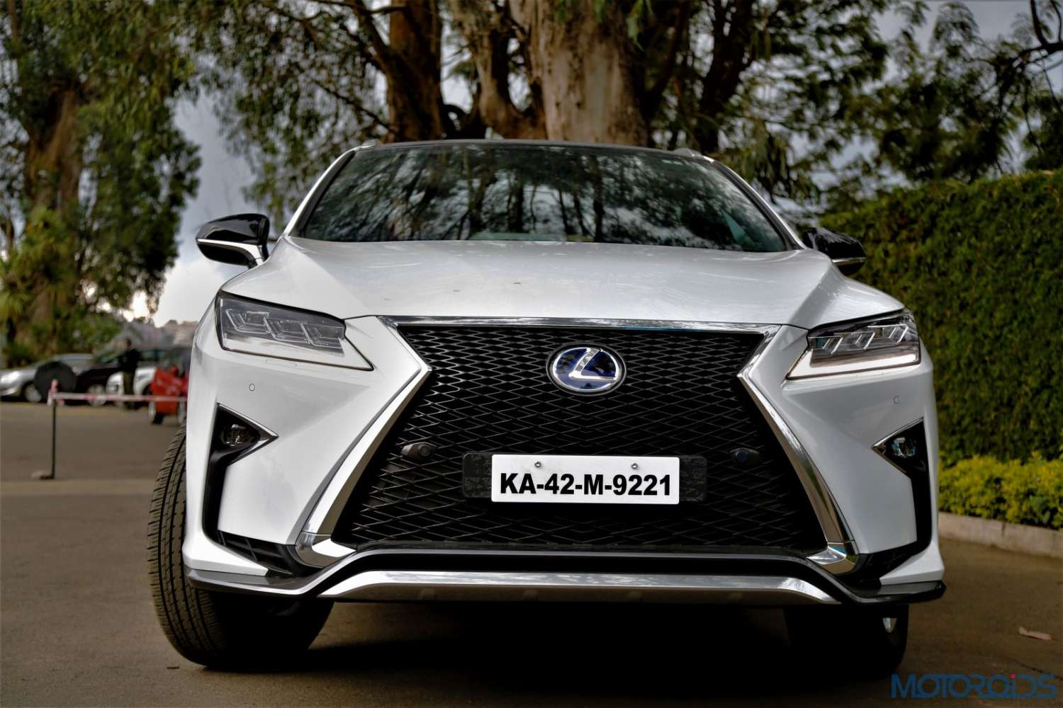 lexus rx 450h first drive review tech exposition motoroids. Black Bedroom Furniture Sets. Home Design Ideas