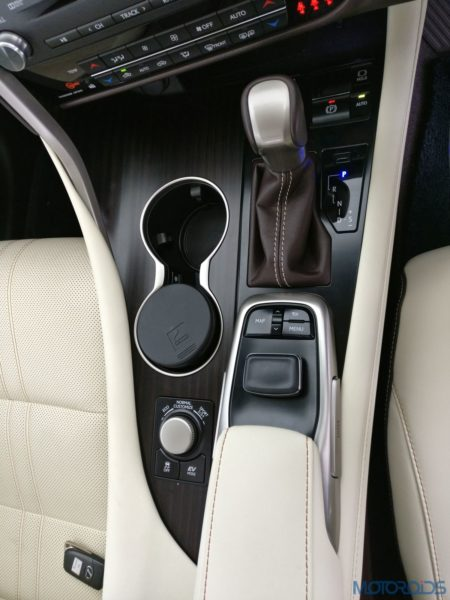 Lexus RX 450h - remote touch interface