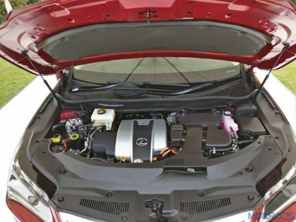 Lexus RX 450h - engine
