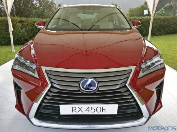 Lexus RX 450h - Front view