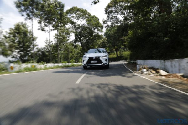 Lexus RX 450h - front action shot