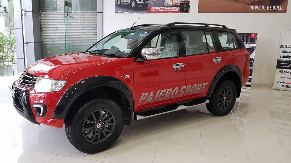 pajero sport select plus side door profile