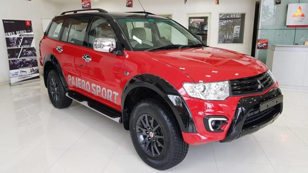 a special edition model of the Pajero Sport
