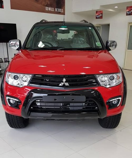 Pajero Sport Select Plus front profile