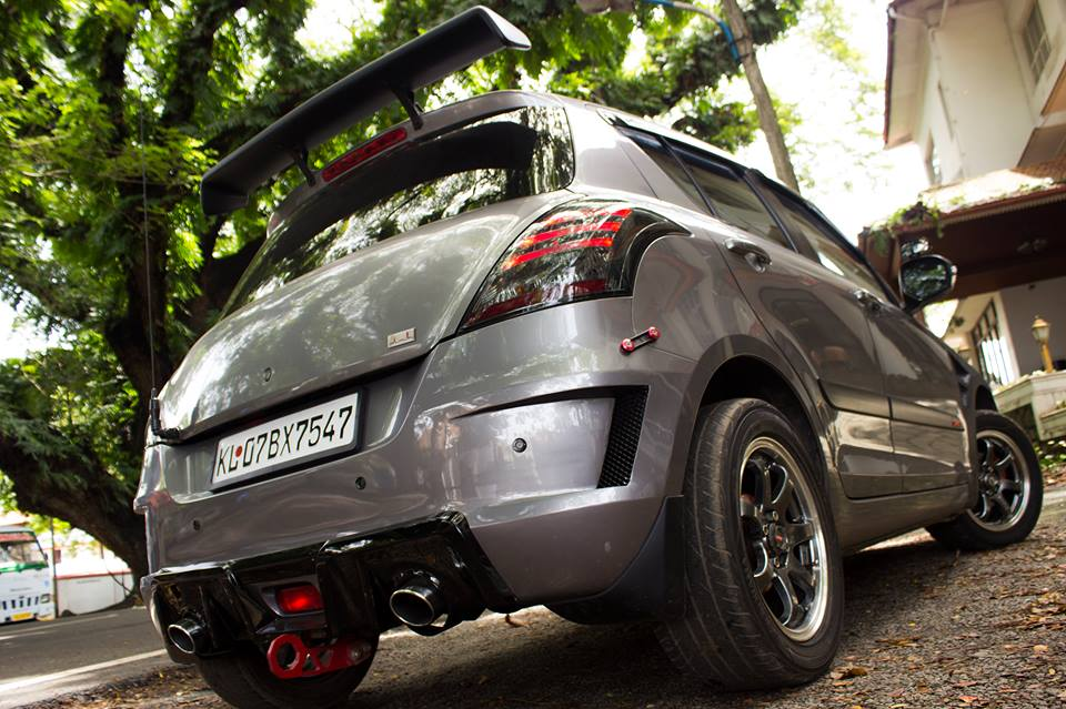 This Modified Maruti Suzuki Swift Goes By The Name ...