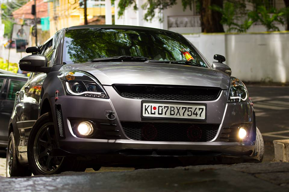 This Modified Maruti Suzuki Swift Goes By The Name