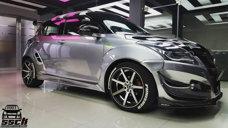 This Modified Maruti Suzuki Swift Goes By The Name