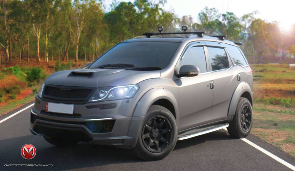 This Modified Mahindra Xuv500 Shows How Much Cooler The