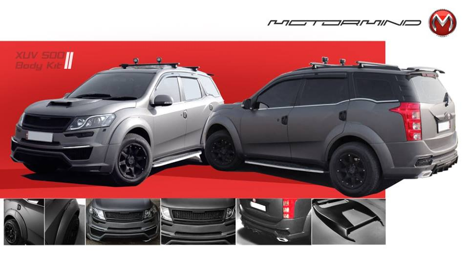 Prestige Motor Gallery >> This Modified Mahindra XUV500 Shows How Much Cooler The ...