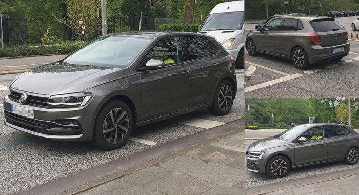 New 2017 Volkswagen Polo Caught Completely Undisguised